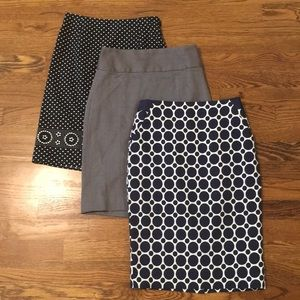 Banana Republic/The Limited/SO Pencil Skirt Bundle